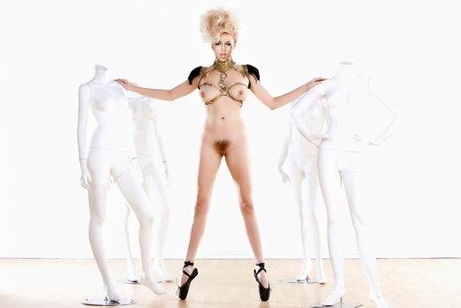 Lady Gaga Nude Eccentric