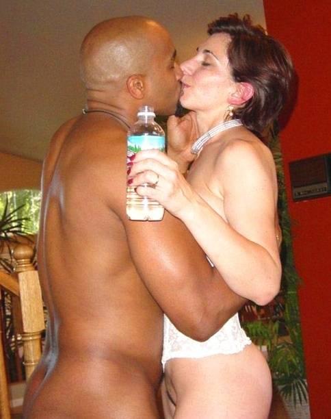 Interracial Kissing