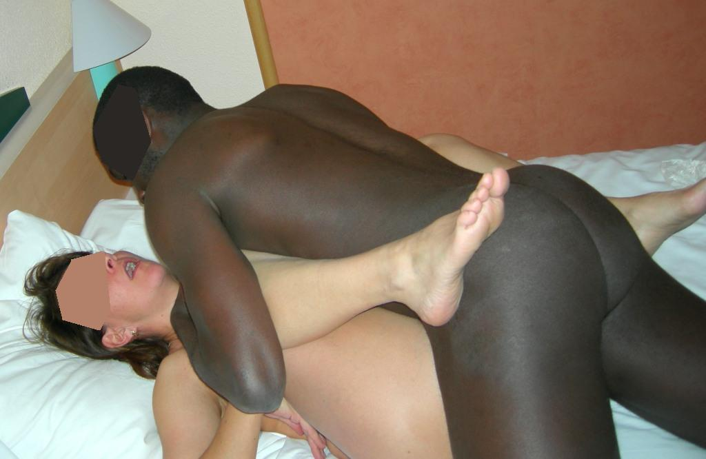 MILF comes again after being fucked the 2nd time from young black lover