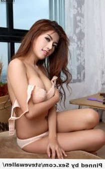Sexy asian with cute face