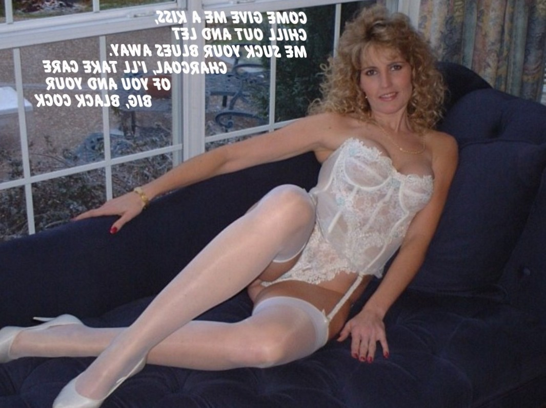 White Slut to Take Your Cares Away --- and a Load of Cum