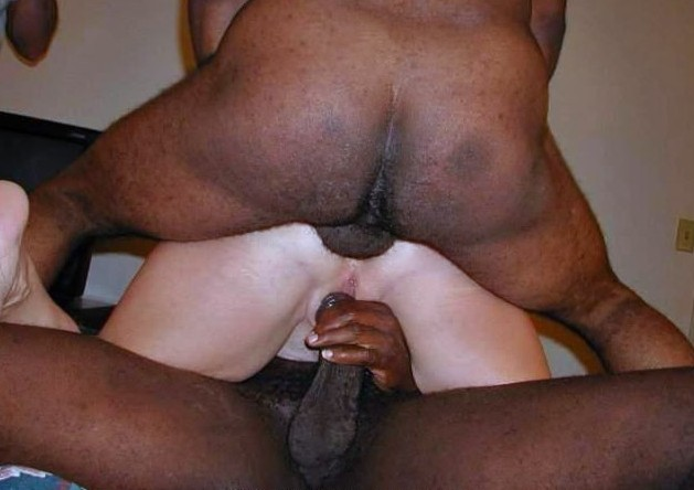 2 black dicks