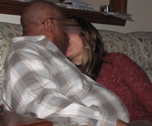My Mom Fuck Her Black Boyfriend in Our Living Room