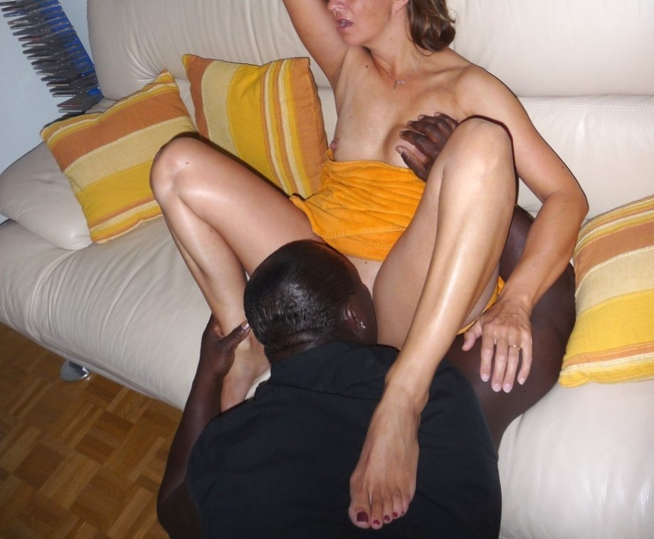 She gets prepared – but was wet before arriving at his place
